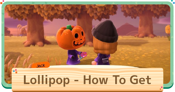 ACNH | Lollipops - How To Get & Exchange | Animal Crossing - GameWith