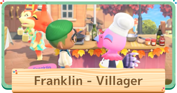 ACNH | Franklin - Update & Ingredients | Animal Crossing - GameWith