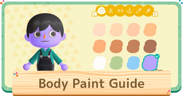 Acnh Body Paint Halloween Body Paint Costume Tips Animal Crossing Gamewith