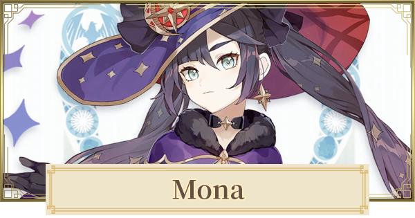 Mona - Skills & Best Build