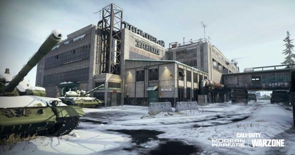 Call of Duty Modern Warfare | Mialstor Tank Factory - Season 6 Map  - GameWith