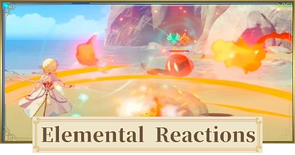 Elemental Combos Reaction Chart Genshin Impact Gamewith