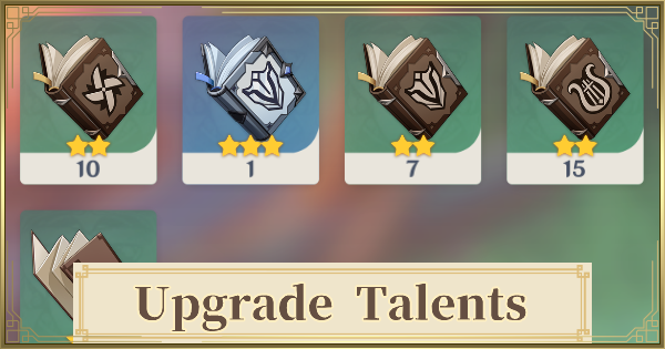 Talent Upgrade Guide - How To Get Level Up Books | Genshin Impact - GameWith