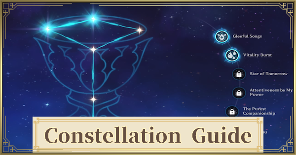 Constellation Guide - How To Upgrade & Materials | Genshin Impact - GameWith