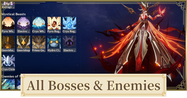 All Boss Fight List - Locations Map & Respawn Time