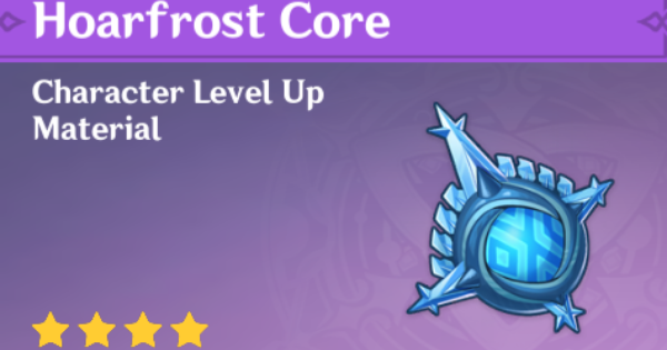 Hoarfrost Core - Location & How To Farm | Genshin Impact - GameWith