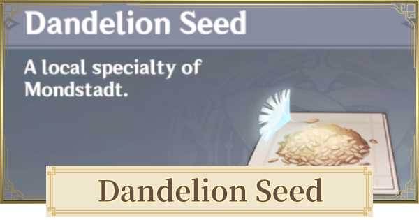 Dandelion Seed Location Map & How To Get | Genshin Impact - GameWith