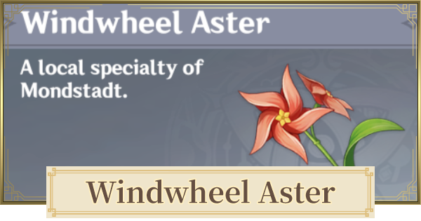 Windwheel Aster - Location & How To Farm | Genshin Impact - GameWith