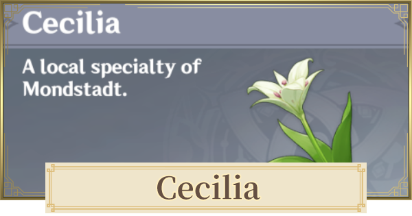 Cecilia Location & How To Get | Genshin Impact - GameWith