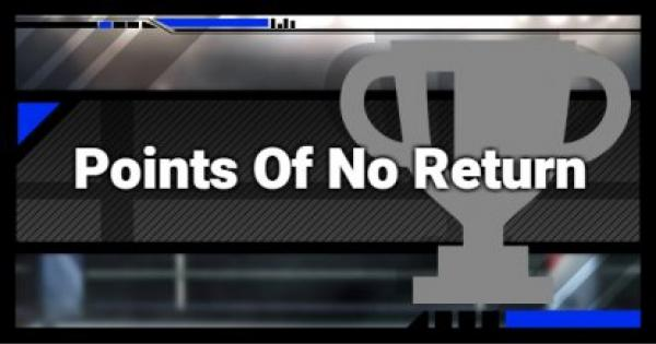 Super Smash Bros Ultimate | Points Of No Return | SSBU