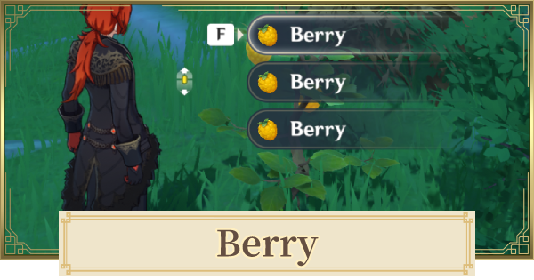 Berry - Locations For Marvelous Merchandise Event | Genshin Impact - GameWith