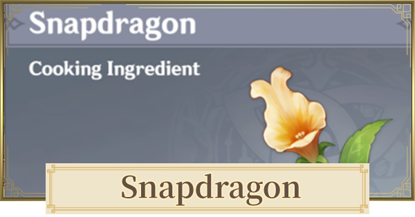 Snapdragon Location & How to Get   Genshin Impact - GameWith