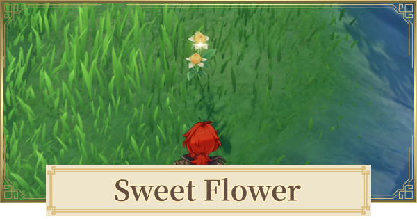 Sweet Flower Location & How To Farm   Genshin Impact - GameWith