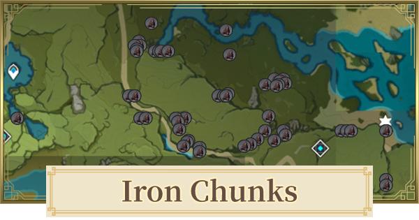 Iron Chunk Location & How To Farm 2.2
