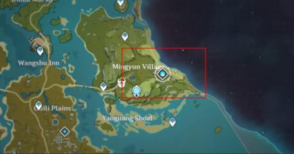 Chunk Of Aerosiderite Location & How To Farm | Genshin Impact - GameWith