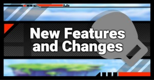Super Smash Bros Ultimate | New Features and Changes | SSBU