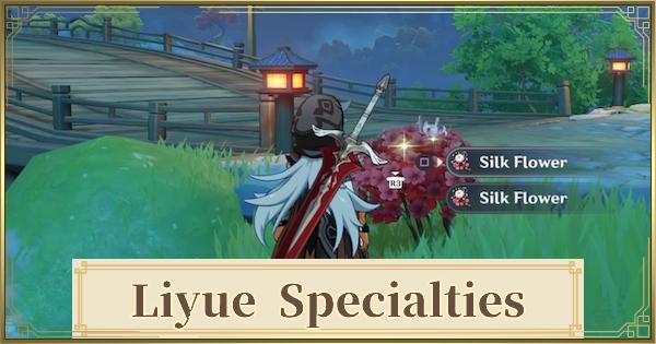 Liyue Local Specialties - Farming Locations | Genshin Impact - GameWith