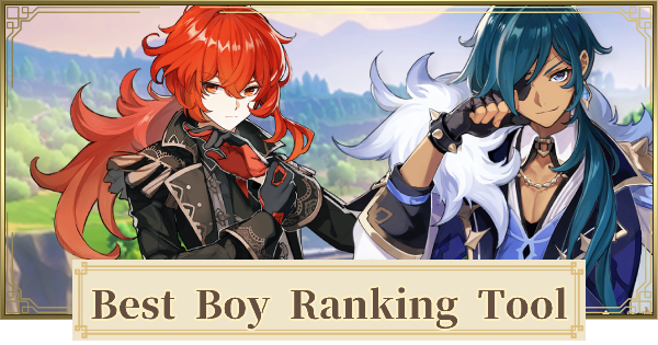 Best Boy Ranking Tool - Rank All Male Characters
