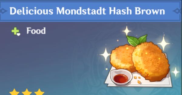 How To Get Mondstadt Hash Brown Recipe   Genshin Impact - GameWith
