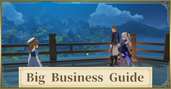 Big Business Quest Guide - Noctilucous Jade & Invoices Locations | Genshin Impact - GameWith