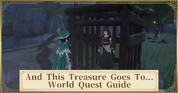 And This Treasure Goes To... Quest Guide - Scholar & Treasure Location | Genshin Impact - GameWith