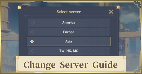 How To Change Servers Guide - Transfer Data Possible? | Genshin Impact - GameWith