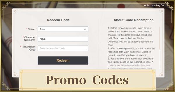 Redeem Codes - How To Redeem Codes Rewards | Genshin Impact - GameWith