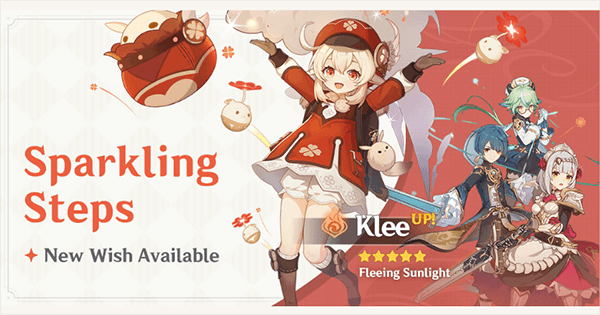 Klee Banner (Sparkling Steps) - Should You Roll It?   Genshin Impact - GameWith