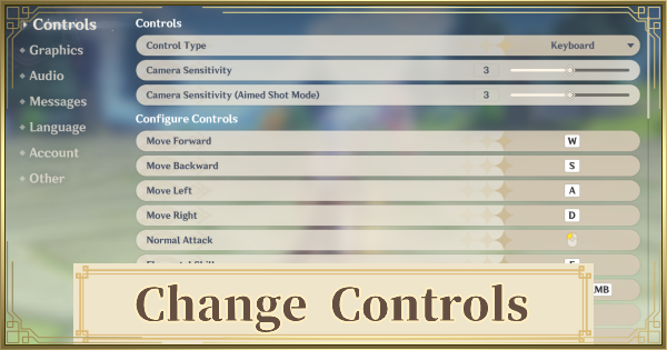 Controls - How To Change & Controller Support | Genshin Impact - GameWith