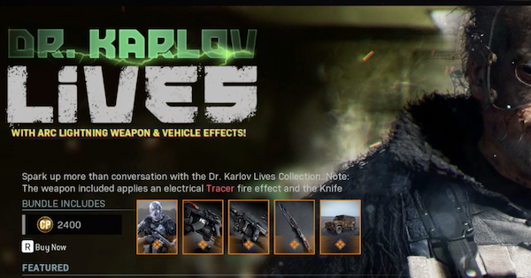 Warzone | Dr. Karlov Lives - Bundle Contents & Details | Call of Duty Modern Warfare - GameWith