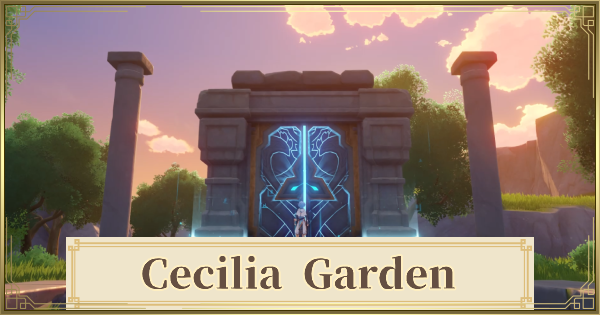 Cecilia Garden How To Unlock Puzzle Seelie Locations Genshin Impact Gamewith