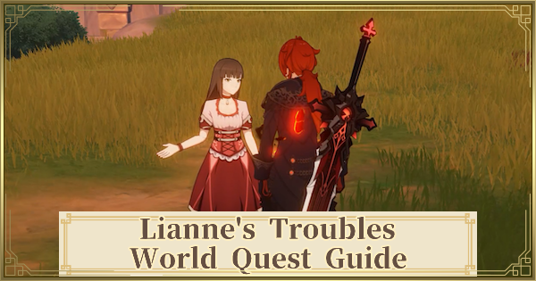 Lianne's Troubles Quest Guide & Location | Genshin Impact - GameWith