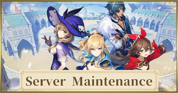 Server Maintenance Genshin Impact