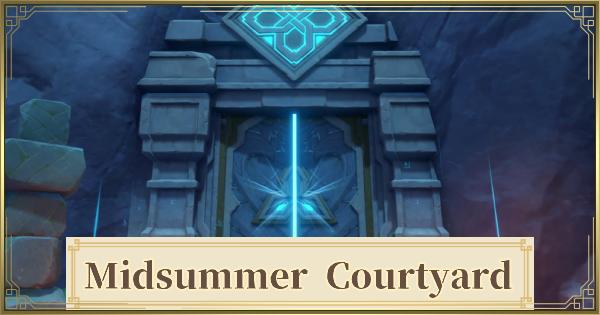 Midsummer Courtyard - Location & Walkthrough   Genshin Impact - GameWith