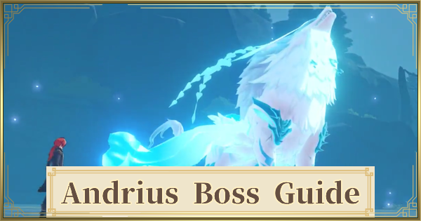 Andrius Boss Guide - Lupus Boreas Strategy & Location | Genshin Impact - GameWith