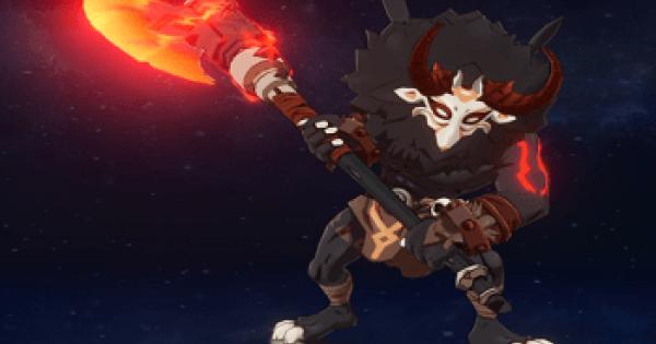 Blazing Axe Mitachurl - Location & Weakness | Genshin Impact - GameWith