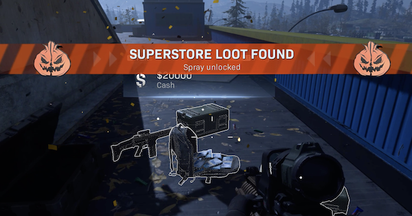 Superstore Halloween Loot - Best Chest Locations