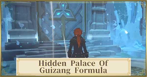 Hidden Palace Of Guizang Formula - Puzzle & How To Unlock