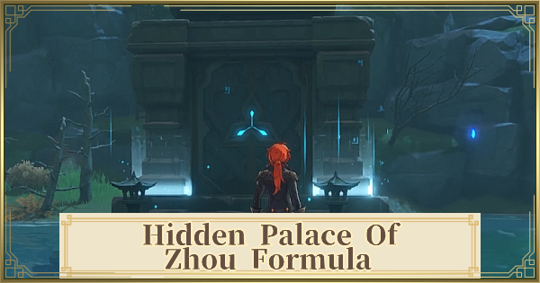 Hidden Palace Of Zhou Formula - Puzzle Guide & Location