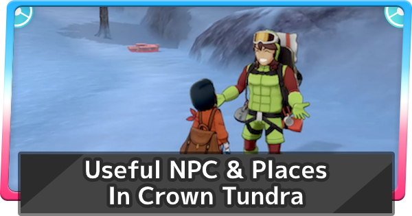 Crown Tundra Useful NPC Characters & Places | Pokemon Sword Shield - GameWith
