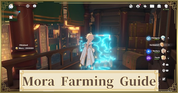 Mora Farming Guide - Best Ways To Farm Money | Genshin Impact - GameWith