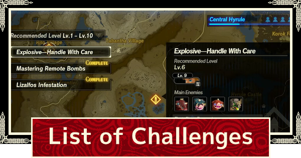 Challenge List - Rewards & How To Beat | Hyrule Warriors Age of Calamity - GameWith
