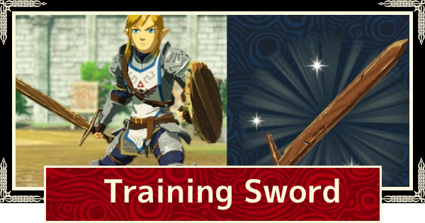 Training Sword Breath Of The Wild Save Bonus Weapon Hyrule Warriors Age Of Calamity Gamewith