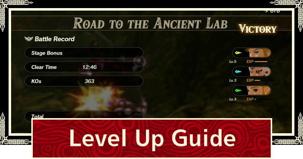 How To Level Up Fast Exp Farming Guide Hyrule Warriors Age Of Calamity Gamewith