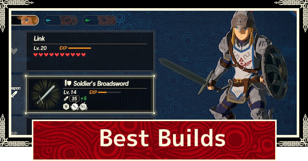 Best Builds Guide - Recommended Loadouts | Hyrule Warriors Age of Calamity - GameWith