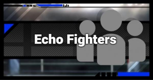 Super Smash Bros Ultimate | Echo Fighters List - Guide & Differences | SSBU
