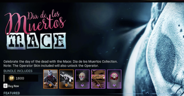 Warzone | Mace: Mia De Los Muertos Bundle - Contents & Details | Call of Duty Modern Warfare - GameWith