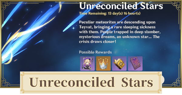 Unreconciled Stars Event - Free Fischl Event Guide | Genshin Impact - GameWith