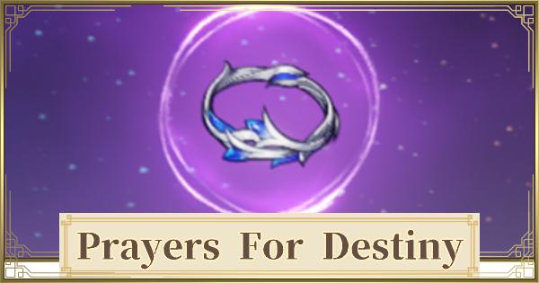 Prayers for Destiny Set - Location & How To Farm | Genshin Impact - GameWith