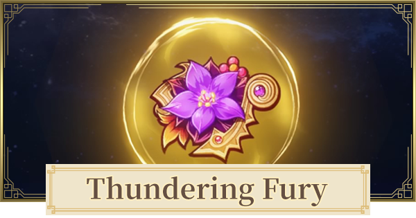 Thundering Fury Set - Location & Stats | Genshin Impact - GameWith